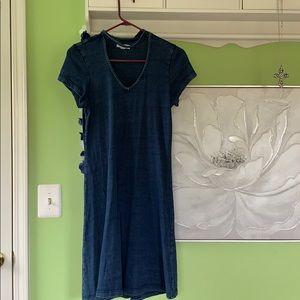 A blue dress!
